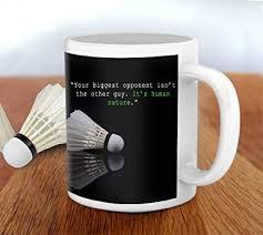 buy tied ribbons sports hardwork winning quotes printed coffee mug