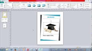 Como Hacer Tarjetas De Felicitacion E Invitacion En Microsoft