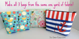 how to make a makeup bag out of fabric