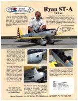 Byron Originals Ryan STA Model Airplane Kit, 90 inch W.S. for 30 - 40 cc,  1/4 scale - RCU Forums