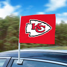 Nfl Kansas City Chiefs Car Flag Fanmats Sports Licensing Solutions Llc