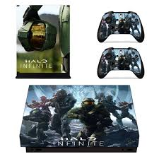 Halo Infinity Skin Sticker For Microsoft Xbox One X Consoleskins Co