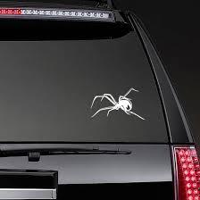 Black Widow Spider Sticker