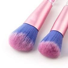 7pcs makeup brushes bling bling glitter