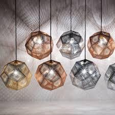 tom dixon etch mini pendant light