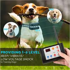 3 In 1 Electric Dog Fence Training Collar Electric Shock Collars Pet Fencing System Rechargeable Waterproof Receiver For Small Medium Large Dogs Indoor Outdoor Walmart Com Walmart Com