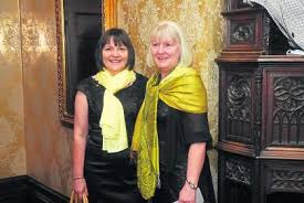 Gallery: Glamour and Glitz at Women's Little Christmas Black Dress Lunch in  Kilronan Castle - Photo 1 of 13 - Leitrim Observer