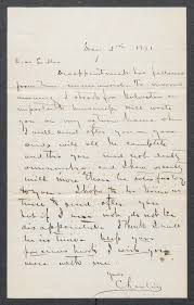 Letter from Charlie to Lillie Johnson, dated May 5, 1871] - The ...