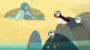 Puffin Rock Takes Wing With Chris O Dowd Narrating Puffin Chris O Dowd Illustrations And Posters