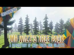 Mr Wizz S Tree Pack V1 6 260 Schematics Custom Trees Of All Sorts And Much More Minecraft Map