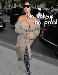 kim kardashian goes flawless with a