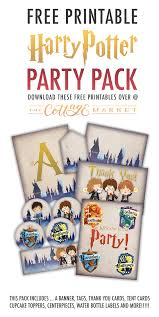 Free Printable Harry Potter Party Pack For All Occasions
