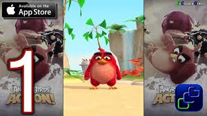 ANGRY BIRDS Action iOS Walkthrough - Gameplay Part 1 - Stages 1-5 ...
