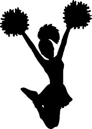 Cheerleader Decal Window Bumper Sticker Car Decor Cheer High School Spirit Girls Ebay