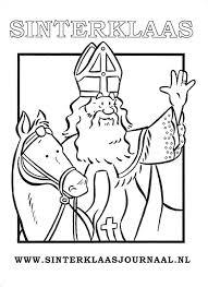 Sinterklaasjournaal Kleurplaat 01 Topkleurplaat Nl