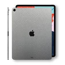 Ipad Pro 11 Grey Carbon Fibre 2018 Skin Wrap Decal Easyskinz