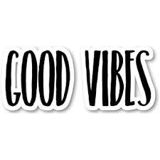 Amazon Com Good Vibes Sticker Inspirational Quotes Motivation Stickers Laptop Stickers 2 5 Vinyl Decal Laptop Phone Tablet Vinyl Decal Sticker S183238 Kitchen Dining