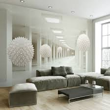 Shop Custom Wall Mural Large Wall Painting Modern 3d Stereoscopic Abstract Art Space White Ball Living Room Tv Backdrop Wallpaper Online From Best Wall Stickers Murals On Jd Com Global Site