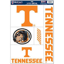 Tennessee Car Clings Tennessee Vols Car Sticker Window Cling Fansedge