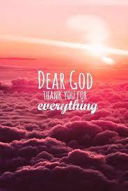 dear god thank you for everything dp whatsapp clouds dear god