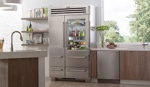 sub zero have freestanding refrigerator