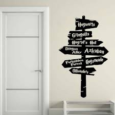 Harry Potter Wall Decals India Large Amazon Diagon Alley Art Uk Always Canada Vamosrayos