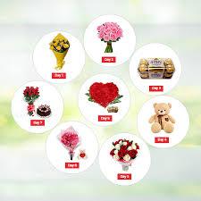 send 8 days valentine day sends