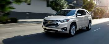 chevrolet traverse crossover 2019