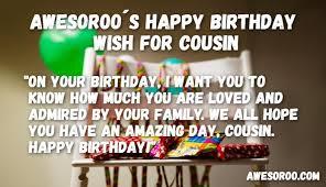 best happy birthday cousin status quotes wishes feb