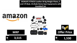 ironlife fitness leather 30 kg weight