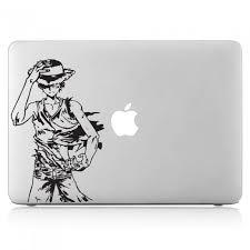 One Piece Monkey D Luffy Laptop Macbook Vinyl Decal Sticker