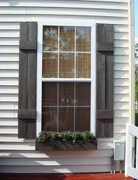 delightful diy cute window shutters