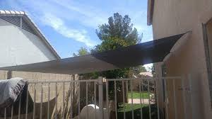 We Are Able To Design And Install Shade Sails For Dog Run In Arizona Here We Discuss A Recent Shade Sail Dog Run Instal Shade For Dogs Backyard Shade Dog Yard