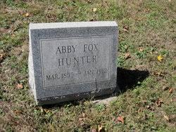 Abby Fox Hunter (1855-1913) - Find A Grave Memorial