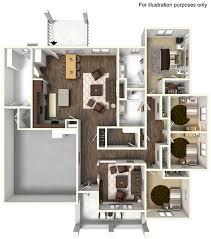 Berkley Model - ADA | 4 Bed Apartment | Peterson AFB Tierra Vista  Communities