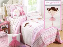 quilt set pink turquoise purple cotton