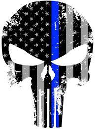 blue line skull wallpaper yr8tkyu