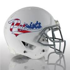 2 Color American Flag Football Helmet Decals Healy Awards