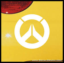 Overwatch Emblem Overwatch Inspired Vinyl Car Laptop Decal Decal Drama