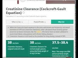 cockcroft gault equation hindi