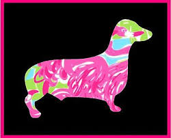 5 Dachshund Dog Pet Custom Print Vinyl Yeti Decal Sticker Wall Laptop Car Ebay