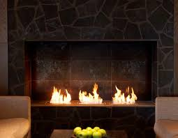 ethanol fireplace with remote control