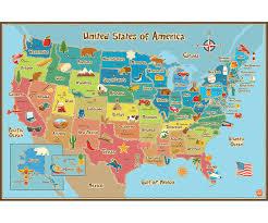 WallPops Kids Usa Dry Erase Map Decal - Walmart.com