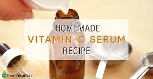 diy vitamin c serum that actually works