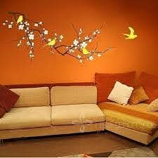 New 2014 Vinyl Fashion Tree Branch Cherry Blossom Wall Decal With Birds Wall Art Wall Stickers Home Decor Large Size 120 X 58cm Order Wall Decals Oversized Wall Decals From Tony China 19 09 Dhgate Com