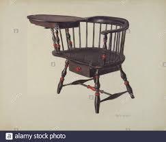 Harvard Student's Chair (Windsor); c. 1938 Adele Brooks, Harvard Student's  Chair (Windsor), c 1938 Stock Photo - Alamy