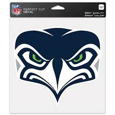 Seattle Seahawks Car Window Decal 8 Perfect Cut Secondary For Sale Online