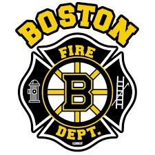 Boston Fire Department Hockey Decal