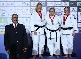silver medal at vetran judo world