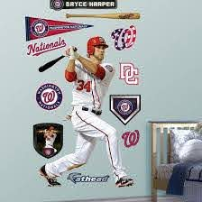 Washington Nationals Bryce Harper Wall Decal Sticker Wall Decal Allposters Com